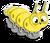Goal silkworm icon