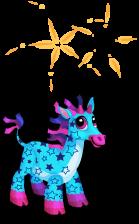 Party giraffe an