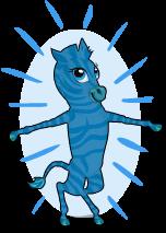 Blue zebra an
