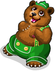 Lederhosen bear static