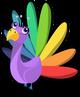 Rainbow Peacock single