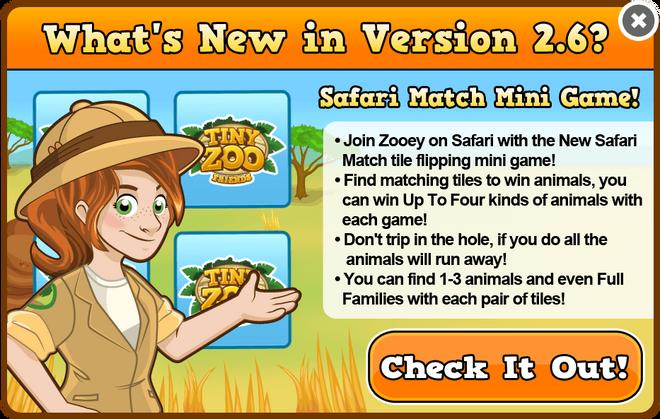 Safari match modal