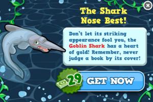 Goblin shark modal
