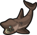 Basking shark single