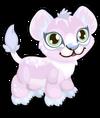 Cubby lion white single