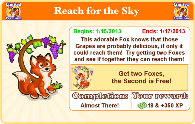 Fox and the grapes goal modal