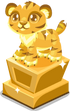 Tiger baby trophy