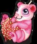 Candy apple panda single