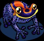 Mimic poison dart frog single