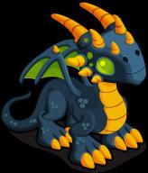 Spooktacular Dragon single