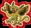 Goal green parakeet monkey icon