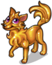 Golden wolf single
