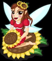 Sunflower fairy single
