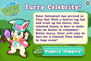 Peter cottontail modal