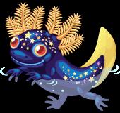 Astral axolotl single