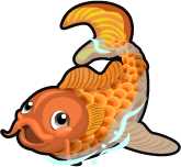 Koi Fish single