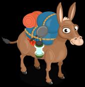Pack mule single