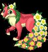 Flora fox single
