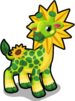 Sunflower giraffe single