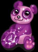 Amethyst panda single