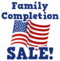 July fourth family completion sale hud