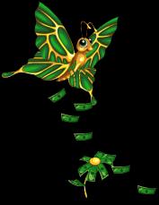 Bucks butterfly an