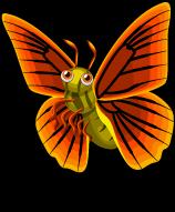 Orange Albatross Butterfly single