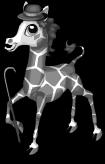 Chaplin giraffe static
