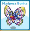 Mariposa bonita card