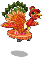 Thanksgiving turkey an