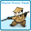 Martial master panda card