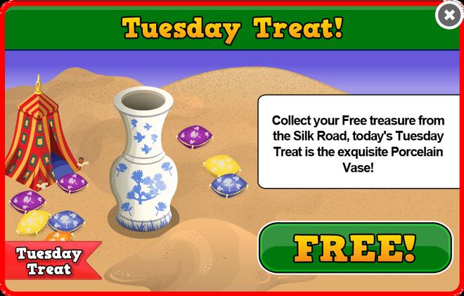 Silk road tuesday treat modal