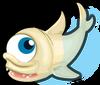 Albino cyclops shark single