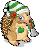 Caroling hedgehog single