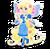 Goal rapunzel fairy icon