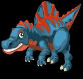 Spinosaurus single