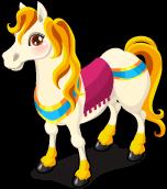 Carriage horse single