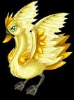 Golden bucks swan static