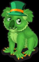 St. patty's koala single