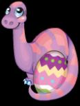 Easter eggosaurus static