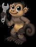 Monkey wrench single