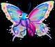 Rainbow butterfly single