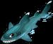 White tip shark single