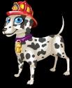 Firefighter dalmation single