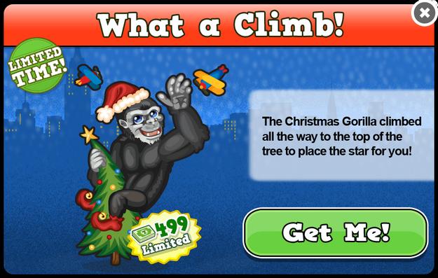 New york gorilla modal