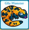 Gila monster card