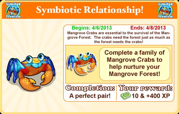 Mangrove crab goal modal