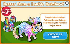 Rainbow leopard modal
