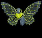 Spooky web butterfly single