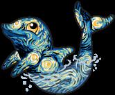 Starry dolphin single